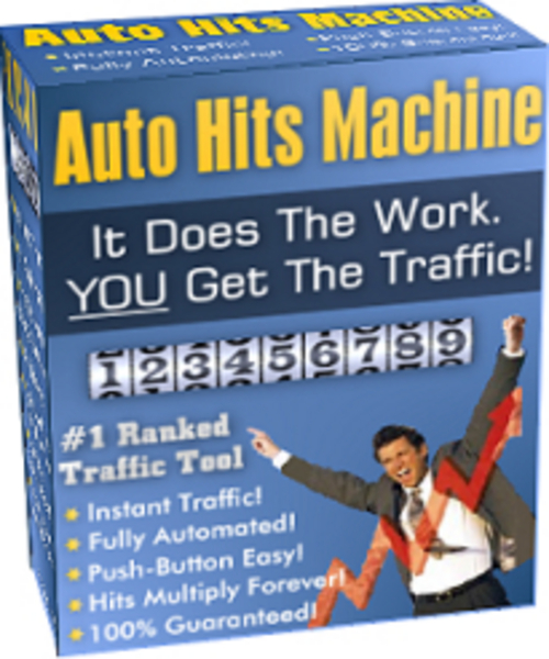 Product picture The Auto Hits Machine! Unlimited Hits To Your Website!