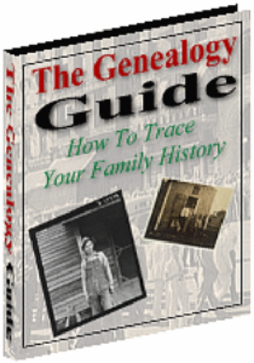 Product picture GENEALOGY! TRACE  YOUR  FAMILY HISTORY NOW