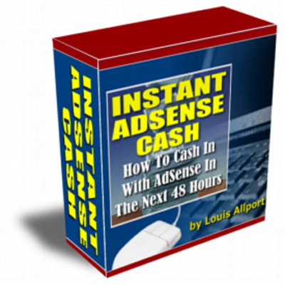 Product picture INSTANT ADSENSE CASH IN 48 HOURS.GUARANTEED!