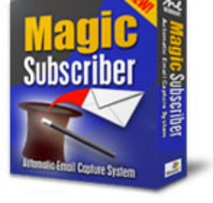 Product picture MagicSubscriber! Instant Email Capture Software